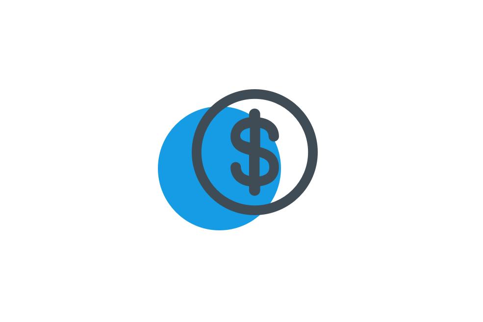 moeda azul