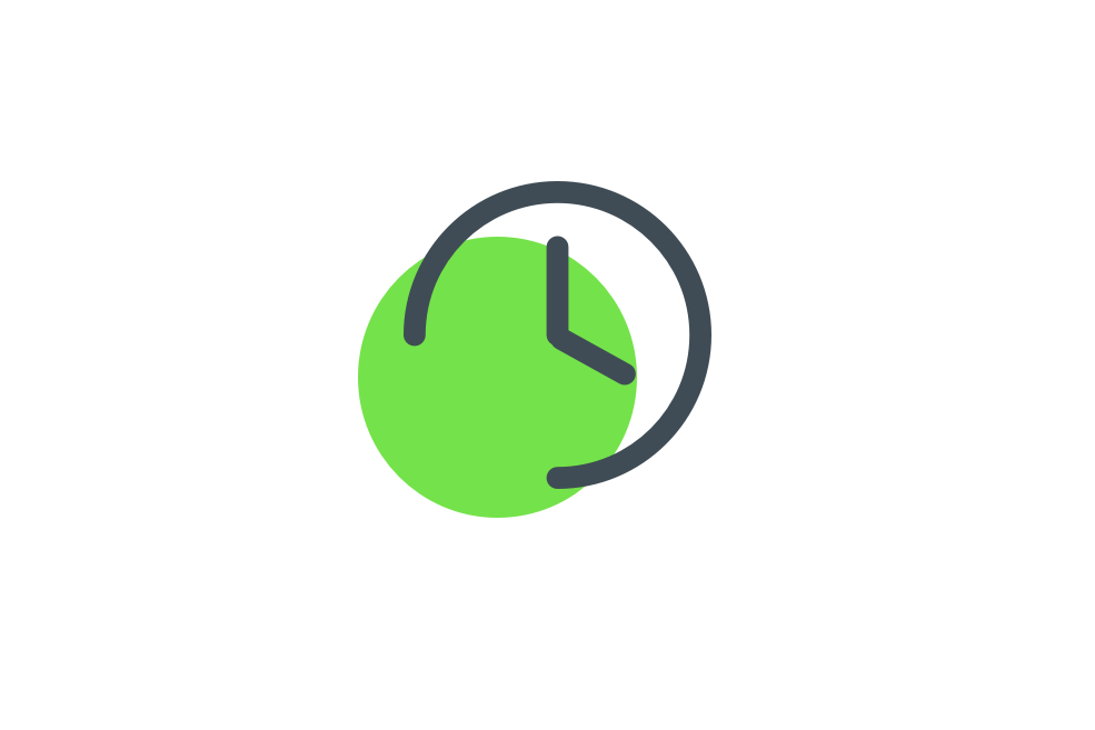 relogio verde